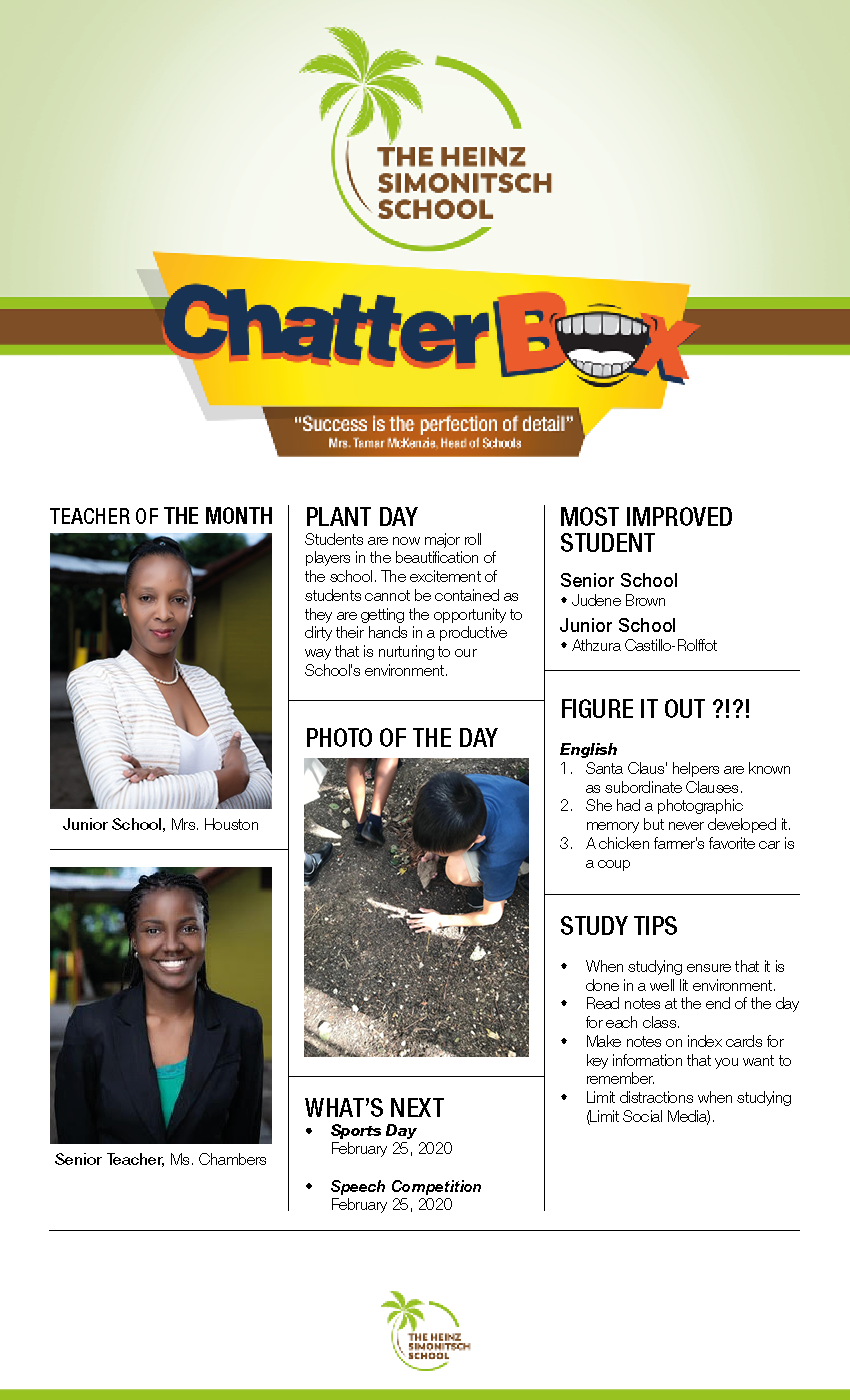Chatterbox Newsletter